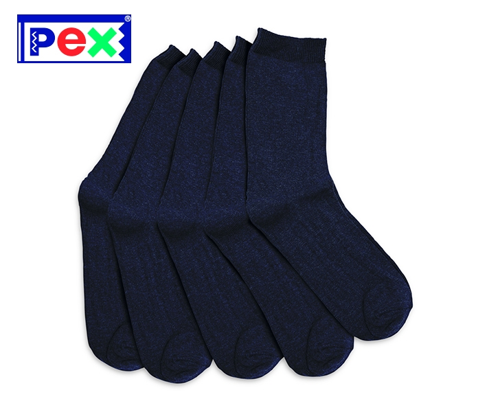 Boys/Youths Navy Ankle Sock (5 Pack)