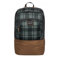 Quiksilver School Bag-Burst-Plaid Tarmac KTA9