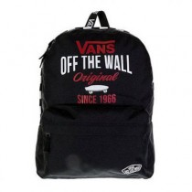 Vans School Bag Sporty Realm Black Skate Stack 22L