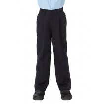 Junior Navy Sturdy Fit Trouser