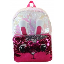 Girls school Backpack Freelander - 34F297 Pink Rabbit