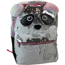 Girls School Backpack Freelander - 34F297 Silver panda
