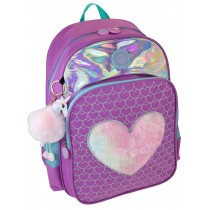 Freelander Purple Fur Print  Backpack