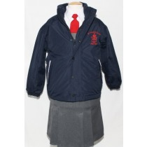 St.Joseph's Co-Ed Crested School Jacket (Navy)