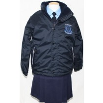 St.Vincents Girls Crested School Jacket (Navy)