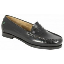 Girls School Shoes-Dubarry-Oxford (Black)