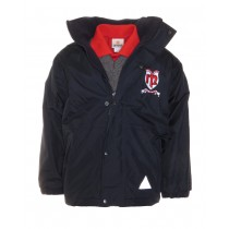 Bayside Crested School Jacket (Navy)