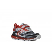 Geox Boys Trainer | Android | Grey Red