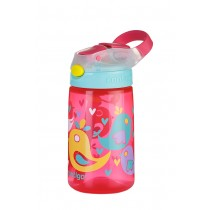 Contigo Water Bottle - Kids Gizmo Flip 420ml - Cherry Blossom