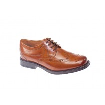 Dubarry Communion Shoe | Greyson | Chestnut