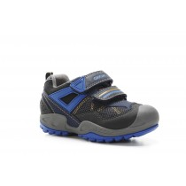 Geox Savage Boys Navy/Royal Casual Shoe