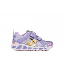 Geox Girls Pokémon Sneaker | JR Shuttle | Violet-Lilac