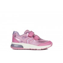 Geox Girls Trainers | Spaceclub | Pink/Fuchsia