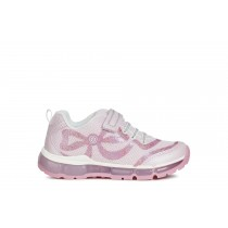 Geox Girls Trainers | Android | Pink/DK Pink