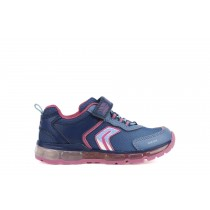 Geox Girls Trainer | ANDROID lights | Navy
