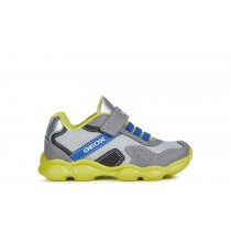 Geox Boys Trainer | MUNFREY | Grey/Lime