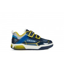 Geox Boys Trainer | INEK lights | Navy/Yellow