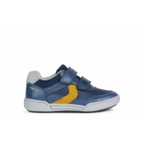 Geox Boys Trainer | POSEIDO | Navy/Dk Yellow