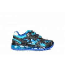 Geox Boys Shoes | J ANDROID Black/Light Blue