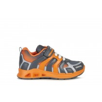 Geox Boys Shoes | J DAKIN BOY Dark Grey/Orange