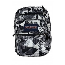 JanSport Big Student Backpack | 34L Black Street Lines