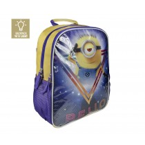 Kids Character School Bags | Minions Lights Backpack