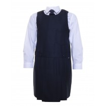 Our Lady Of Consolation Pinafore (Navy)