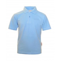 Plain Blue Polo Shirt