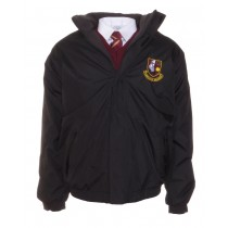 Pobalscoil Neasain Crested School Jacket (Black)