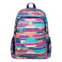 Roxy Alright Laptop Friendly Backpack - Desert Point Geo NLE6