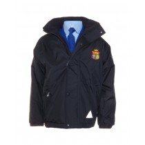 Scoil Chaitriona Crested School Jacket (Navy)