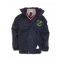 St.Fiachras Crested School Jacket (Navy)