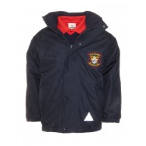St.Fintans Crested School Jacket (Navy)