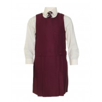 St.Francis of Assisi P4 Pinafore (Wine)