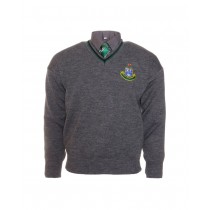St Kevin's Junior Cycle Grey Jumper