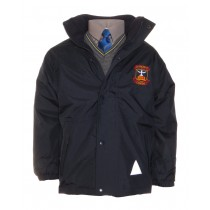 St.Vincents Glas.Crested School Jacket (Navy)