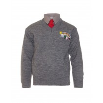 St Joseph's Co-Ed N/S Boys Grey V/N Jumper